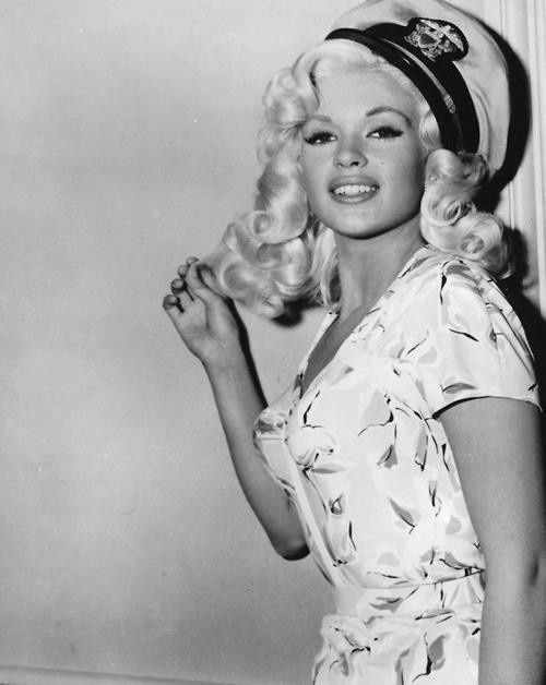 Jayne Mansfield printed dress