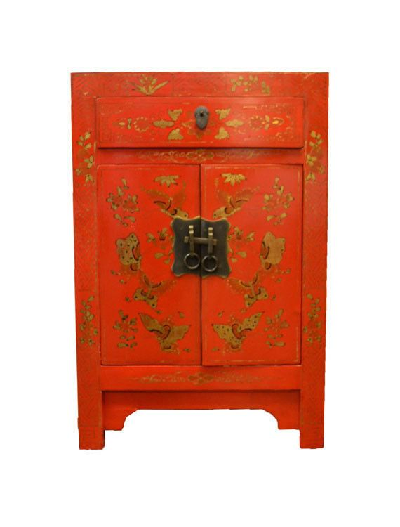Amazing Nachttisch massivholz chinesische M bel Schrank Hochzeitsschrank Nachtschrank