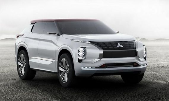 Концепт внедорожника Mitsubishi GT-PHEV / Мицубиси GT-PHEV