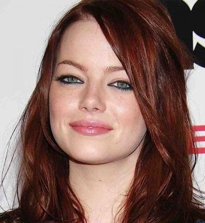 emma stone with a chainsaw | capelli più cool per l'autunno inverno 2013-2014