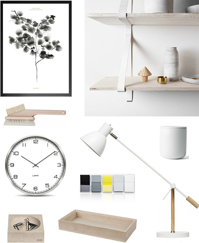 The Design Chaser // workspace // Interior // Design // By Garmi Cotton Plant Poster