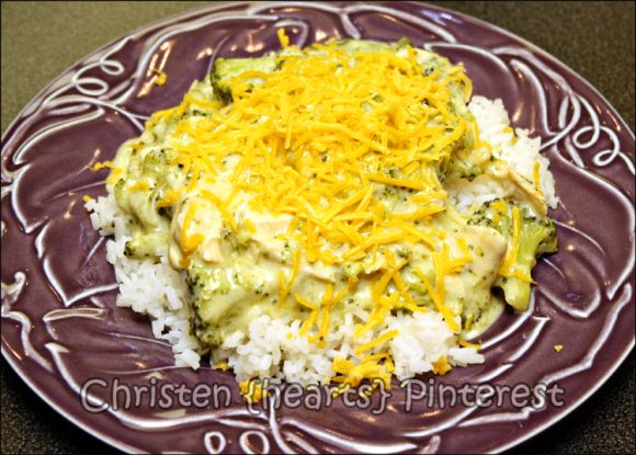+ Creamy Crockpot Chicken and Broccoli Over Rice = Nommm! | Crockpot ...