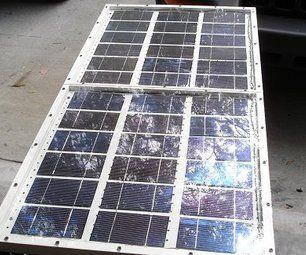Build a 60 Watt Solar Panel  from Instructables