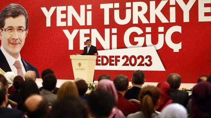 "Prime Minister Ahmet Davutoglu, ""Resolution determination process will continue."""
