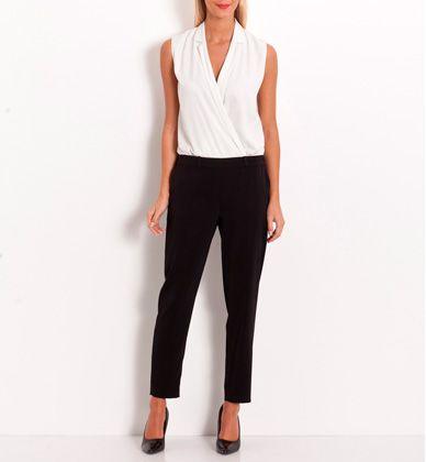 Combinaison femme pantalon bicolore - Grain de Malice