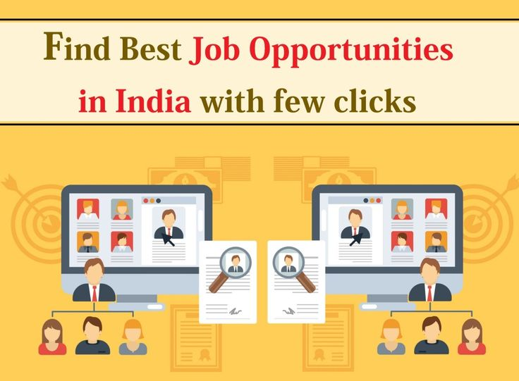 Search job opportunities in india for freshers and