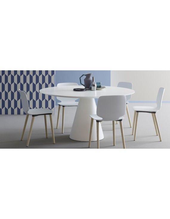 Tisch rund weiß , Esstisch rund modern weiß, Konferenztisch