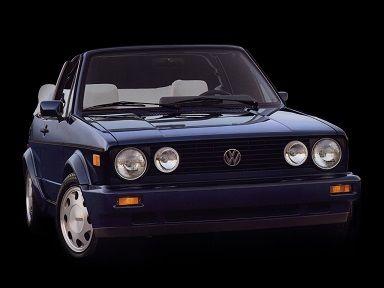 Volkswagen Golf Cabriolet (1988 – 1993).