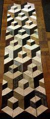 Got all the half-hexagons sewn together | Sami Casanova | Flickr