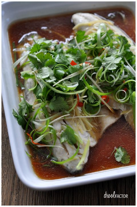 Chinese Style Steamed Fish | Drool Factor