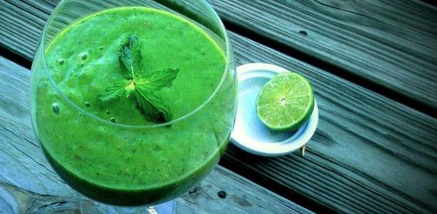 Spinach Mojito Smoothie Recipe