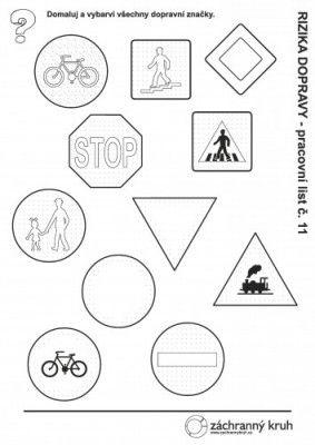 Dopravní výchova - Dopravní značky, Záchranný kruh