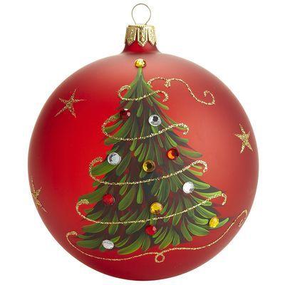 European Red Tree Ornament. no diy. But I think I'll paint ...