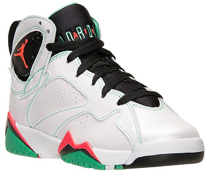 Air Jordan 7 Retro GS White/Black-Verde-Infrared 23 705417-138