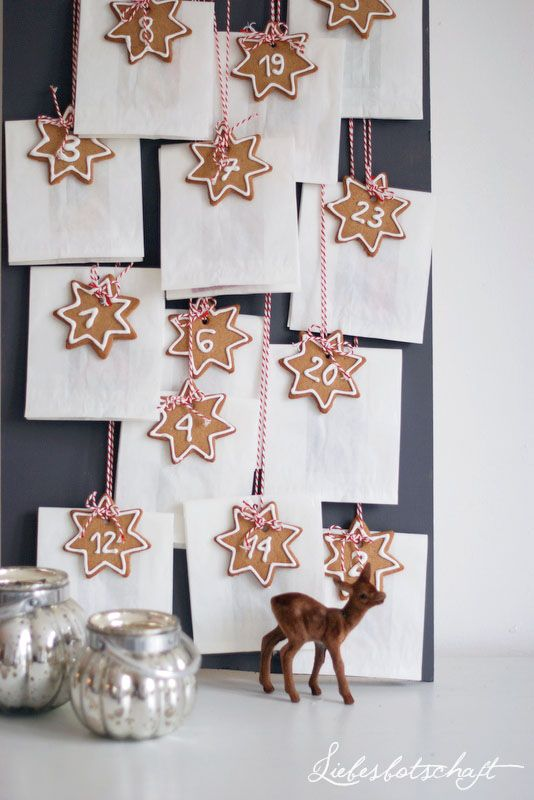 Advent Calendar / Julkalender / Adventskalender via Liebesbotschaft // DIY