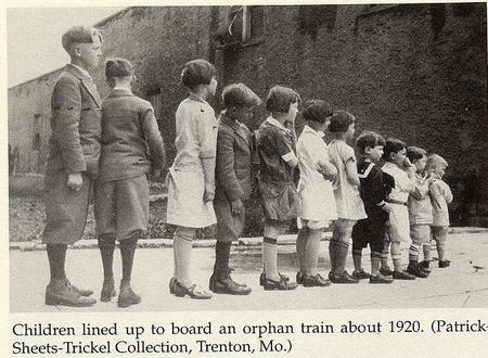 El tren de los huérfanos