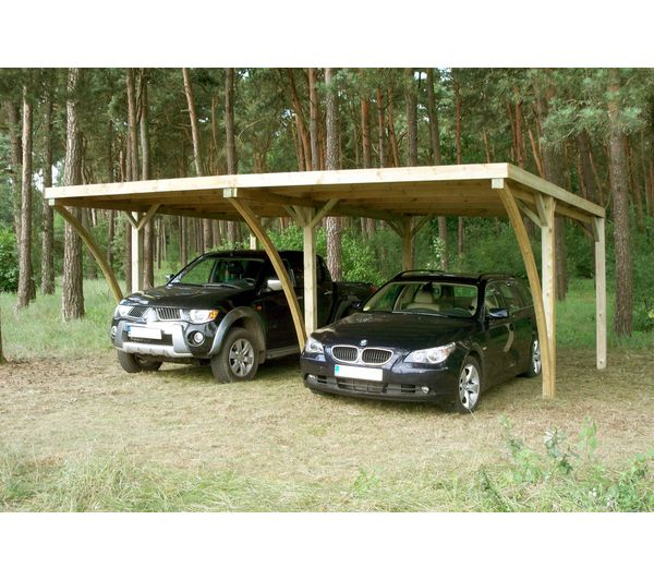 carport double pas cher. Black Bedroom Furniture Sets. Home Design Ideas