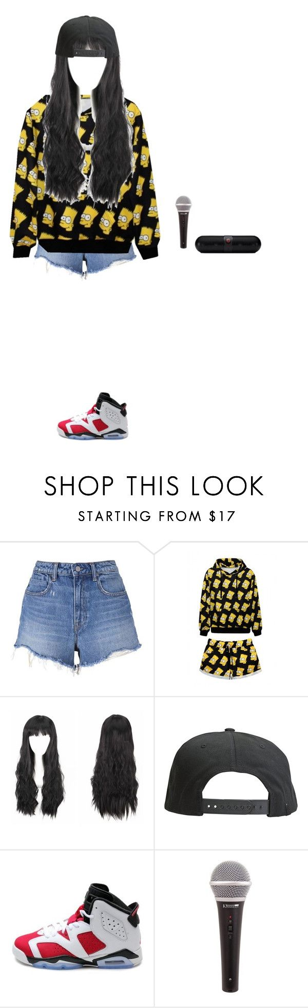 """""""Dancing~Luna"""" by luna-from-dna ❤ liked on Polyvore featuring T By Alexander Wang, WithChic, Tavik Swimwear, NIKE and Beats by Dr. Dre"""