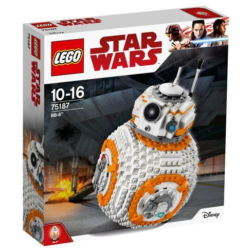 Superb LEGO 75187 Star Wars BB-8 Now At Smyths Toys UK! Buy Online Or Collect At Your Local Smyths Store! We Stock A Great Range Of LEGO Star Wars At Great Prices.