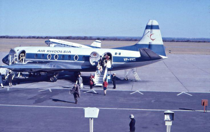 Air Rhodesia Vickers Viscount | Flickr - Photo Sharing!