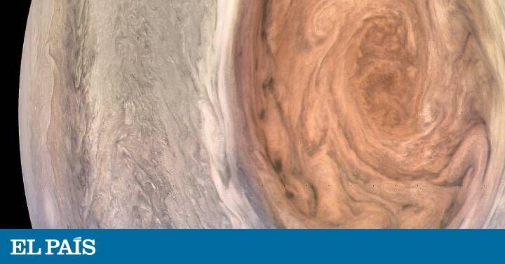 La sonda  Juno  recoge los datos más cercanos que se han visto de la tormenta en el planeta más grande del Sistema Solar