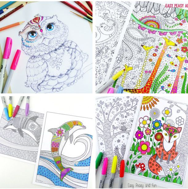 Coloring Book Pages Print : 179 best free adult coloring book pages images on pinterest