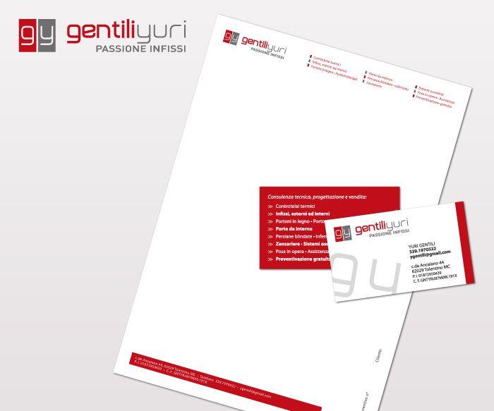 Progettazione logo, biglietti da visita e carta intestata. 2015
