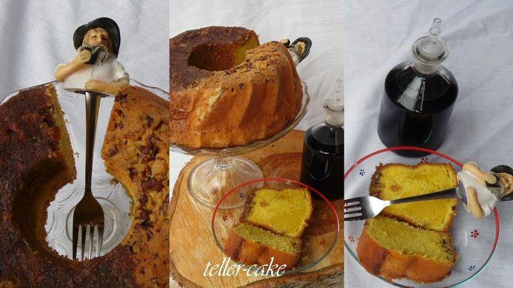 teller-cake: Karibi Tortuga rumtorta (Tortuga Rum Cake)