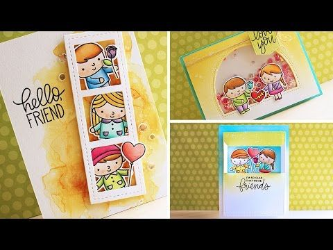 Pretty Pink Posh: One Stamp Set // Three Cards + Video | Pretty Pink Posh