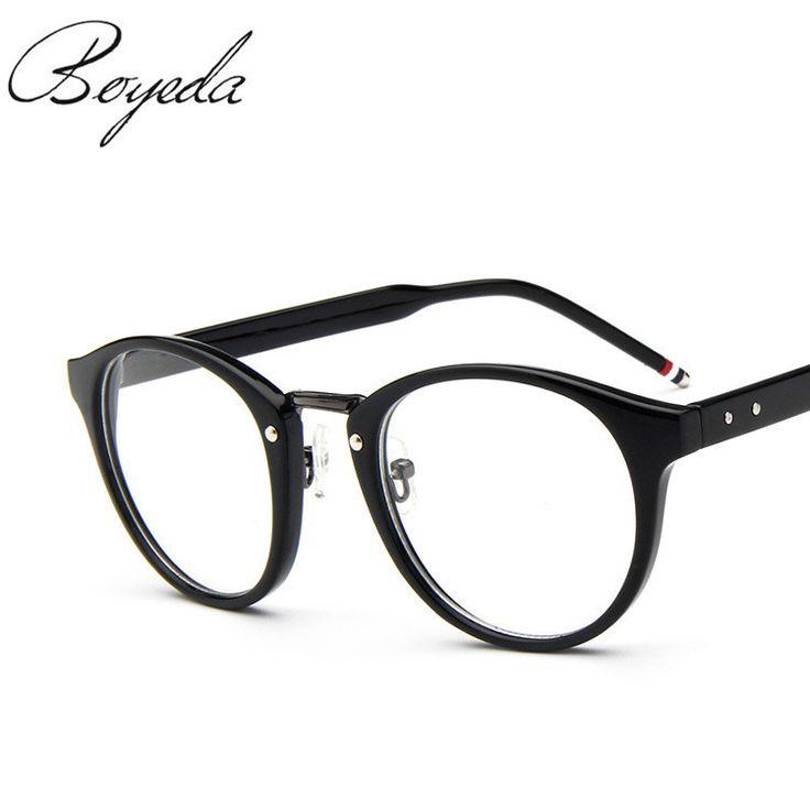 Brand Female Grade Glasses Frame Women Myopia Eye Glasses Frame Men Optical Glasses Vintage Round Eyeglasses Frame For Eyewear