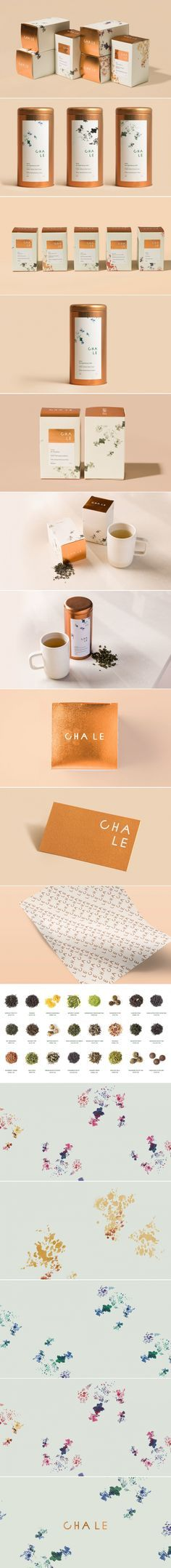 Sip Your Tea in Style With Cha Le — The Dieline | Packaging & Branding Design & Innovation News
