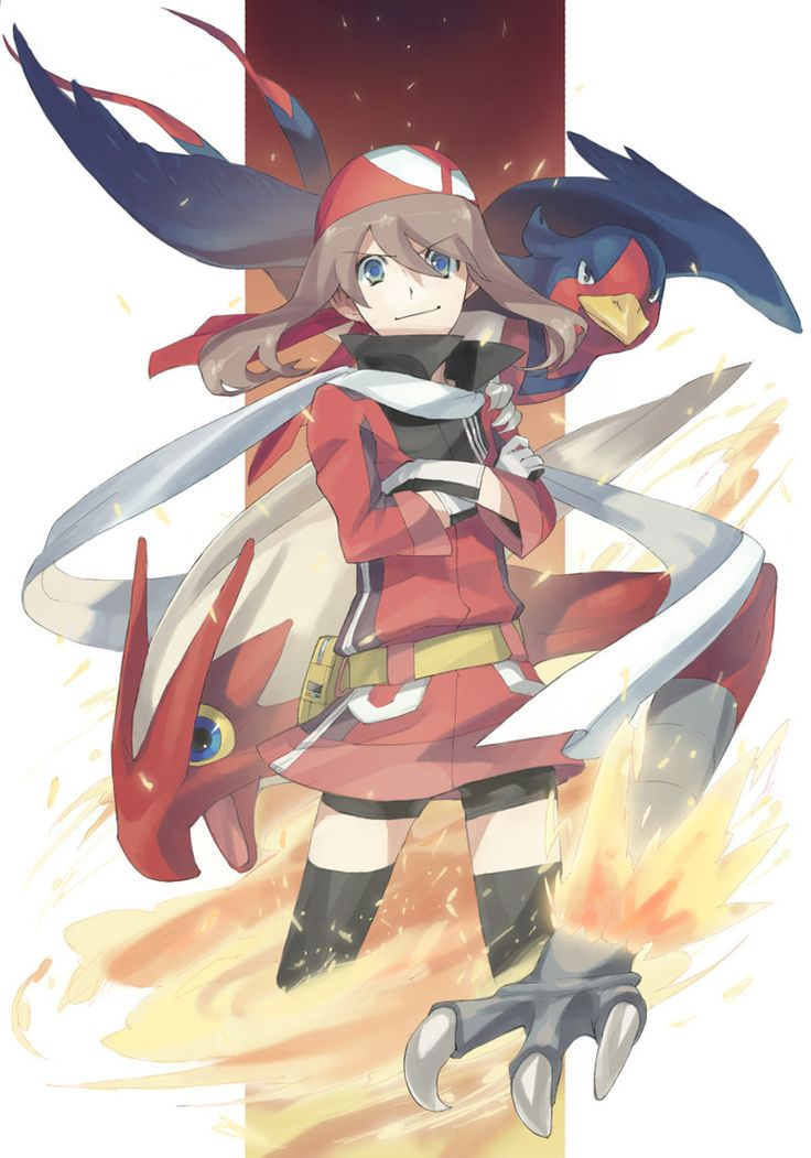 As childhood heroes go, Sapphire is not a bad choice. And who argues with a Swellow and a Blaziken?