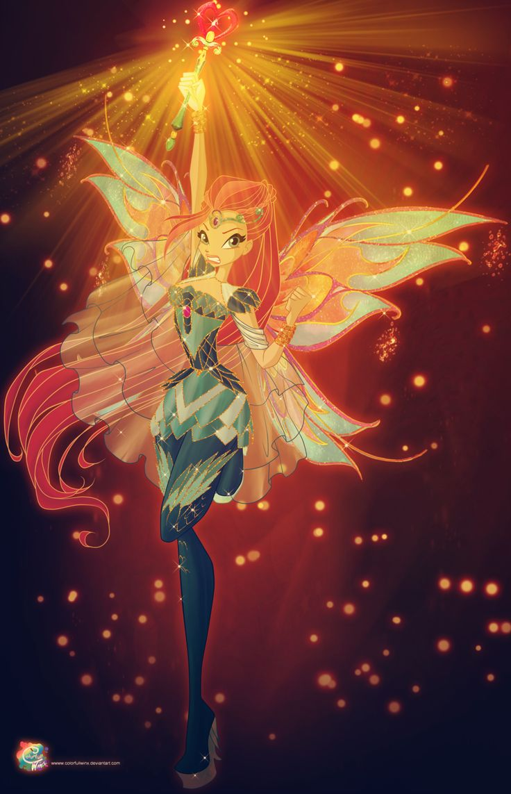Magic mythix bloom by colorfullwinx artworks fan art - Winx magic bloomix ...