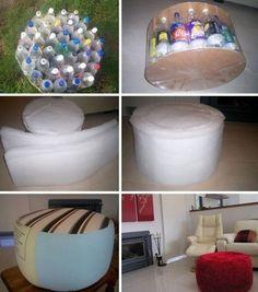 10 оригинальных способов использовать старые пластиковые бутылки в быту.