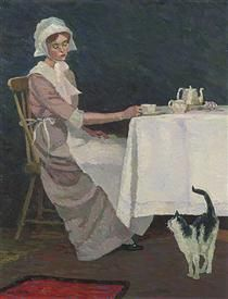 Quaker girl - Grace Cossington Smith