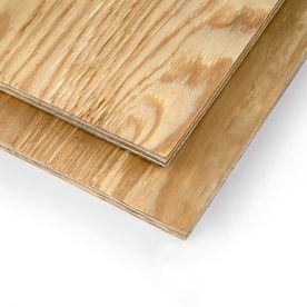 Pine Sheathing Plywood 3/8 CAT PS1-09 (Common: 3/8-in x 4-ft x 8-ft; Actual: 0.354-in x 47.875-in x 95.875-in)