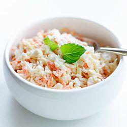 Surówka coleslaw z kalafiora | Kwestia Smaku
