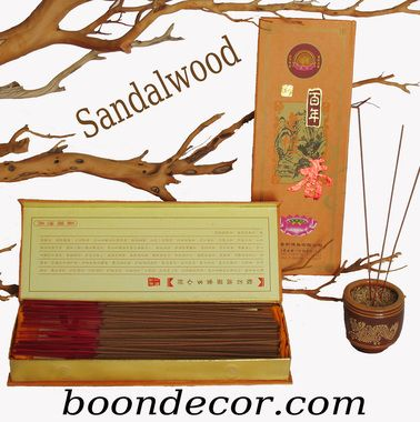 Sandalwood Incense Sticks - Special Edition - Boxed