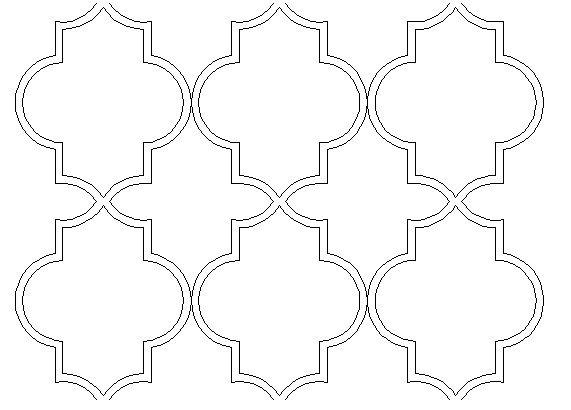 Lady Linda Black - LiNDAandCo. - DIY, ideas, inspirations, design, beautiful things,: Moroccan - Marrakech pattern