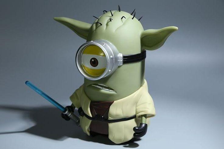 Dumma Mig Yoda Docka 20cm (Dispicable Me, Minions + Star Wars) på