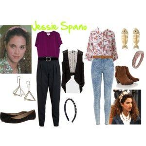 Jessie Spano Outfits
