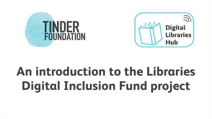 In October 2015 Tinder Foundation awarded funding to sixteen libraries across England to run innovative pilots that will support people to improve their digi...