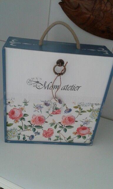 perfect caja de vino para mi amiga with cajas de vino de madera decoradas - Cajas De Vino Decoradas