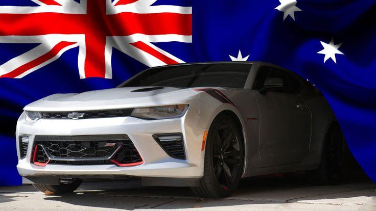 Camaro Down Under: Holden HSV is bringing a big slice of 'Murica to Australia