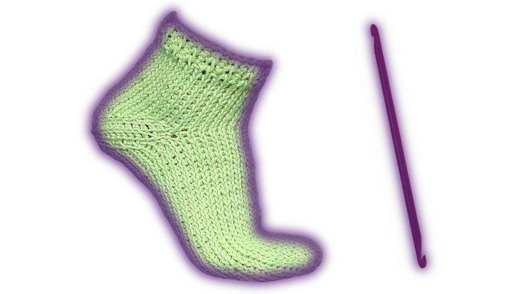 Wooly Tricks тунисский носок крючком