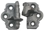 Cast Iron Shutter Hinges, Surface Mounted