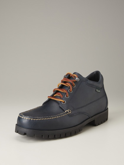 Eastland Shoe Company Brooklyn Lace Up Boots (Dark Navy)