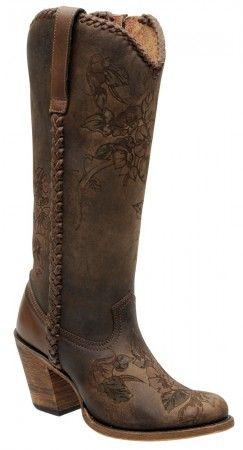 Cuadra Damen Western- Cowboystiefel (Rindleder) 1Z17SS