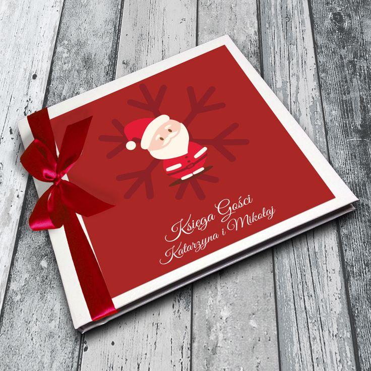 Santa Claus guest book