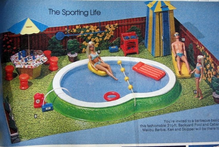 Barbie 39 s new dream house 1964 google search barbie vintage pinterest dream houses for Barbie doll house with swimming pool